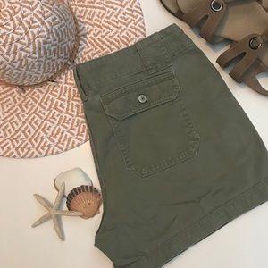 Gap Army Green Chino shorts